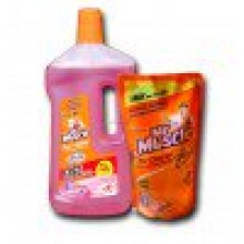 Mr. Muscle Floor Cleaner - 1000ml, FREE Mr.Muscle  Floor Cleaner - 500ml Worth  RS.82 /