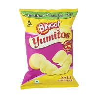 Bingo Potato Chips, Original Style, Salt Sprinkled, 60g