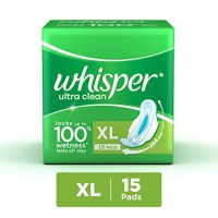 Whisper Ultra Clean XL Wings 15Pads