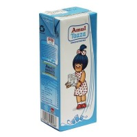 Amul Taaza Homogenised Toned Milk 200ml