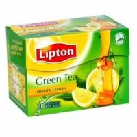 Lipton Green Tea Honey Lemon, 10 Bags