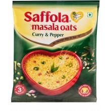 Saffola Masala Oats Curry & Pepper  (500g, Pouch)