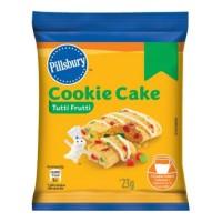 Pillsbury Cookie Cake - Tutti Frutti, Singles, 23 gm