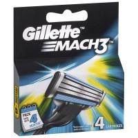 Gillette Mach 3, 4 Cartridges