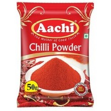 Aachi Powder - Chilli, 50 gm Pouch