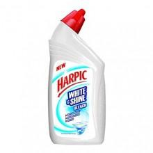 Harpic White & Shine Bleach Toilet Cleaner, 500ml