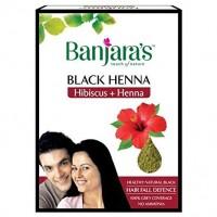 Banjara's Black Henna With Hibiscus, 50g (10g * 5N)