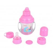 MORISONS Baby Dreams 5 in 1 Twin Handle Feeding Cup 225ml