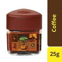 Bru Instant Coffee Powder, Gold, 25g Jar