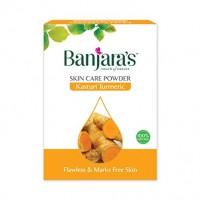 Banjara's Face Pack Powder Kasturi Turmeric, 100g (20g*5N)