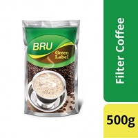 Bru Green Label Coffee Powder, 500g