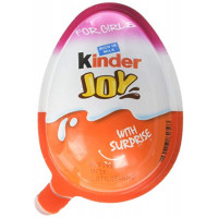 Chocolate Kinder Joy for Girls with Surprise Inside 20g