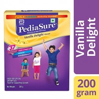PediaSure Health & Nutrition Drink Powder for Kids Growth - 200g (Vanilla)
