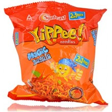 Sunfeast Yippee Noodles - Magic Masala 2 in 1, 140g Pouch