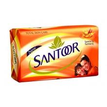 Santoor Sandal and Turmeric Soap, 150g