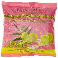 Patanjali Detergent Powder, Neem & Citrus Lemon - 500g