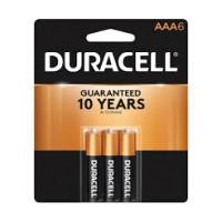 Duracell Battery AAA6