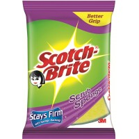 Scotch-Brite Scrub Sponge, 1 Pcs