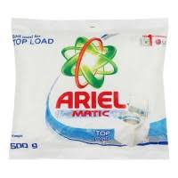 Ariel Complete Matic Detergent Powder Top Load - 500gm