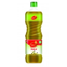 Daaniya Wood Pressed Gingelly Oil, 1ltr - Free Mr. Gold Lamp Oil, 500ml