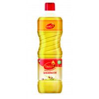 Daaniya Wood Pressed Groundnut Oil, 1ltr - Free 100g Assam Tea