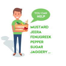 Grocery Package - Rs 2500