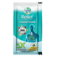 Amrutanjan Cough Syrup - Relief Cough & Cold, 5 Pack