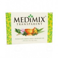 Medimix Transparent With Glycerine And Lakshadi  Soap,  125g