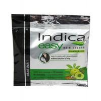 Indica Easy Hair Colour Shampoo Based Natural Black 1, 25ml