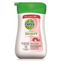Dettol Squeezy Skincare Handwash, 100ml