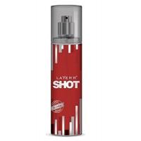 Layer'r Shot Body Spray, Red Stalion, 135ml