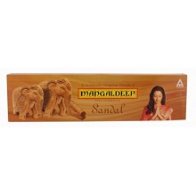Mangaldeep Puja Agarbathis Sandal 90 Sticks - Free Homelite Safety Matchboxes
