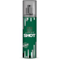 Layer'r Shot Body Spray, Royal Jade, 135ml