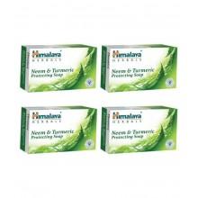 Himalaya Herbals Neem & Turmeric Soap, 75g - Pack of 2 and Get 40g Paste Free