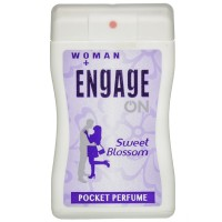 Engage Woman Pocket Perfume, Sweet Blossom, 18ml