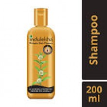 Indulekha Bringha Hair Cleanser, 200ml - Free Dabur Gulabari Rose Water 59ml