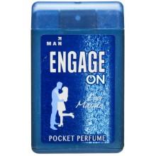 Engage Man Pocket Perfume, Cool Marine, 18ml