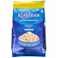 Kohinoor Authentic Basmati Rice Super,  1kg