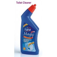 Lyra Magic Triple Action Toilet Cleaner, 500ml