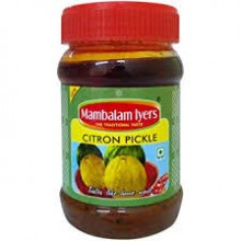 Mambalam Iyers, Citron Pickle, 200g