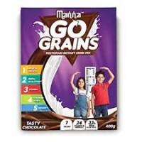 Manna Go Grains Multigrain Instant Drink Mix, 200g
