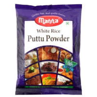 Manna White Rice Puttu Powder, 500g