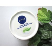 Nivea Aloe Body Cream Refreshing Moisturiser, 50ml