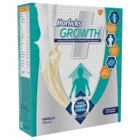 Horlicks Growth Vanilla Flavour Refill, 3-9 Years, 200g