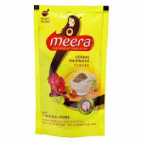 Meera Herbal Hairwash Pouch, 80g