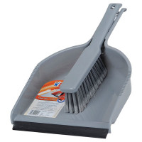Gala Dust Pan With Brush, 1pc