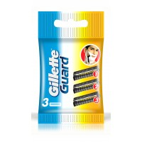 Gillette Guard Cartridges, 3 Refills
