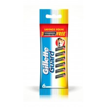 Gillette Guard Cartridges, 6 Refills