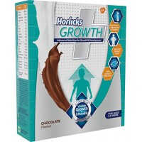 Horlicks Growth Chocolate Flavour Refill, 3-9 Years, 200g