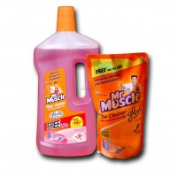 Mr. Muscle Floor Cleaner - 1000ml, FREE Mr.Muscle  Floor Cleaner - 500ml Worth  RS.82 /